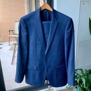 J.Crew Slim Fit Thompson Plaid Suit